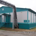 Модульное одноэтажное здание